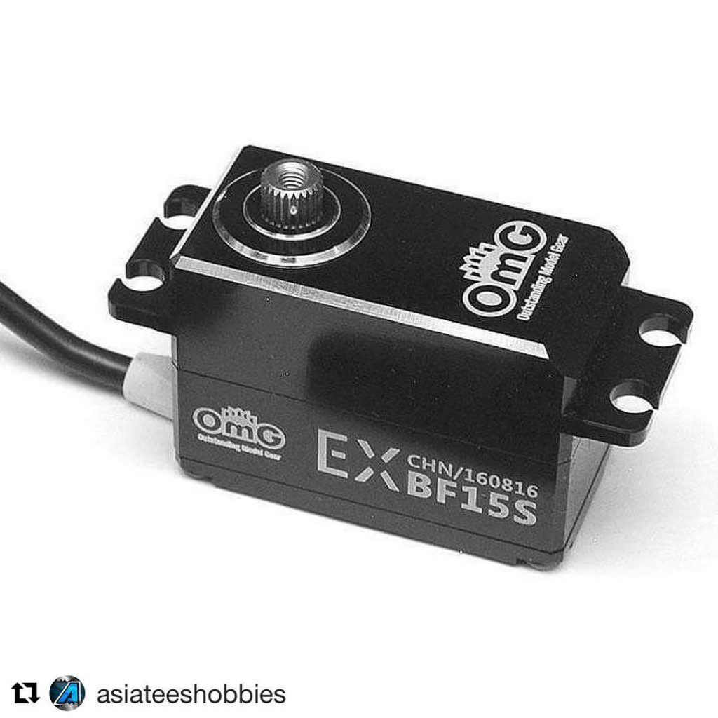 Repost asiateeshobbies OMG RC released four new LOWPROFILE servos exclusivelyhellip
