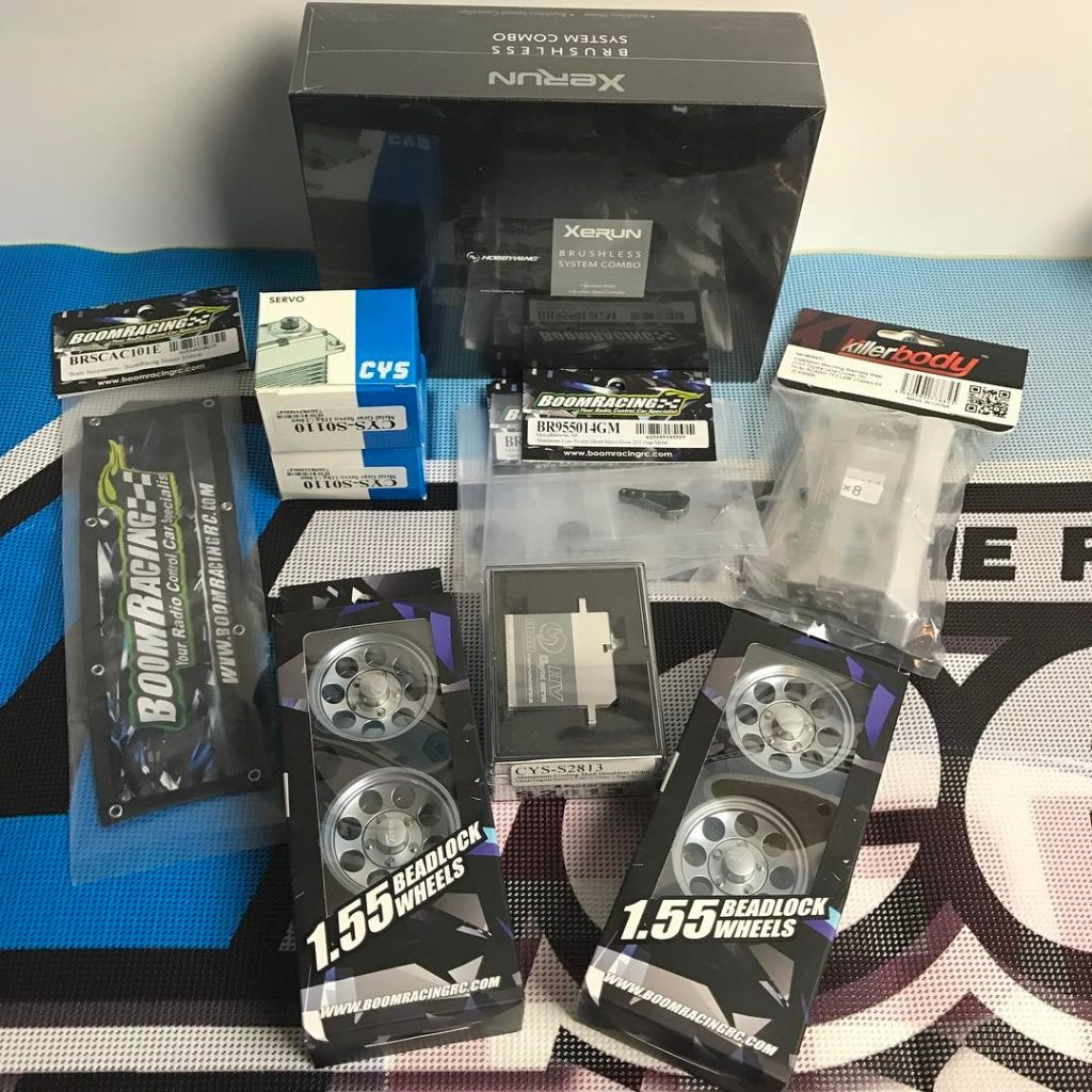 Always a good day when new parts arrive! There arehellip