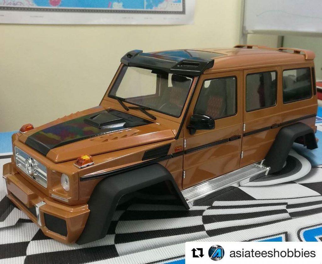 Repost asiateeshobbies Sneak peek of the new Benz G Classhellip