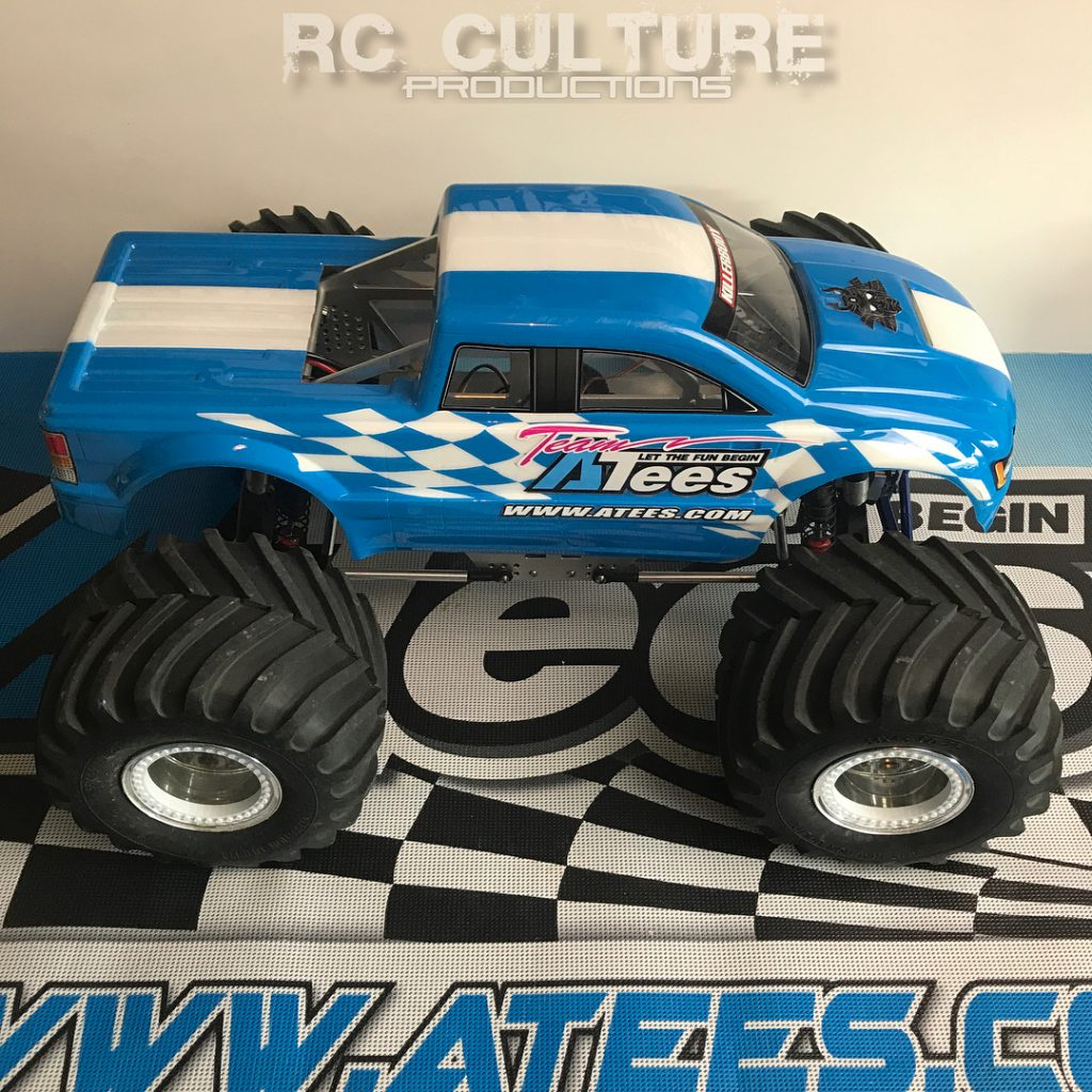 Updated the ATees themed monster truck with some new Boomhellip