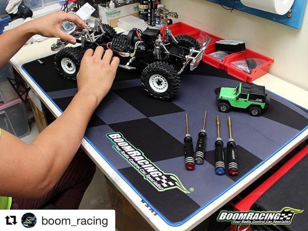 Repost boomracing New Release Boom Racing Team Pit Mat 315x20x12hellip