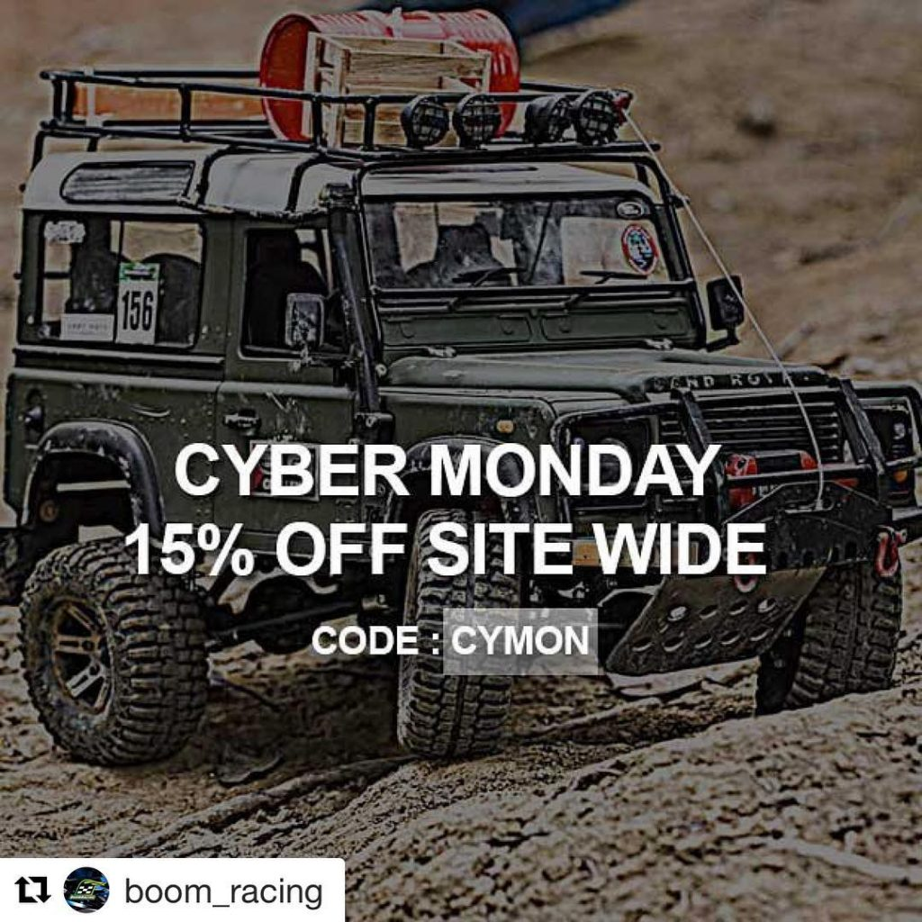 Repost boomracing Cyber Monday SALE is here Take 15 Offhellip